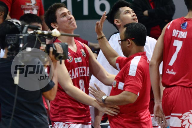 Despite three-game sweep of Arellano, Jarin insists weary San Beda still underdog in finals