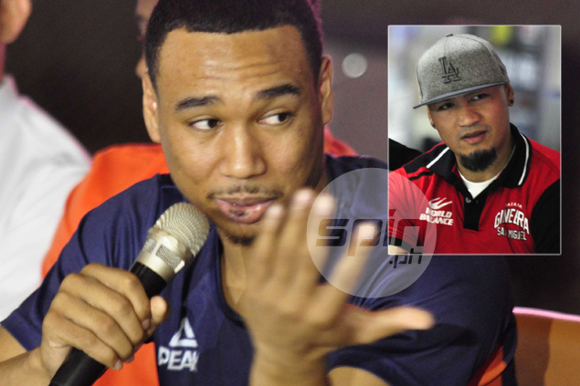 Confession of a rookie: Newsome admits Caguioa his inspiration to become a PBA player