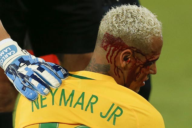 Neymar scores 300th goal as Brazil mauls Bolivia in bloody World Cup qualifying match