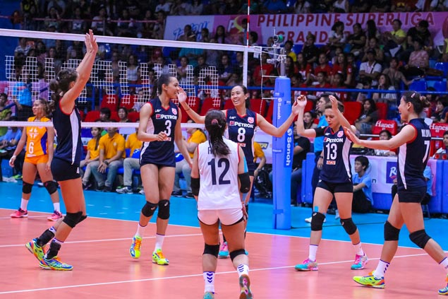 Stephanie Niemer shows way as Petron clobbers Generika in PSL Grand Prix opener