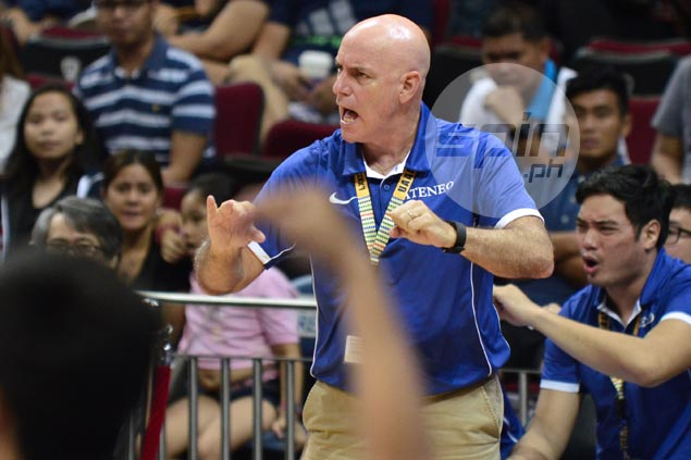 Tab Baldwin insists tough loss to UP part of learning curve for 'inexperienced' Blue Eagles