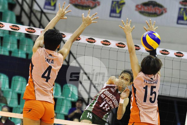 UP Lady Maroons bounce back with easy romp over winless Coast Guard Lady Dolphins