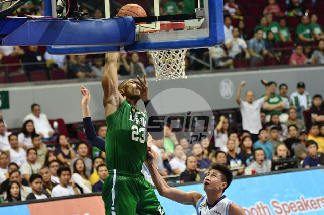 La Salle unbeaten run now at eight as Archers survive huge scare from Falcons