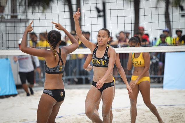Tigresses Rondina, Gutierrez claim UAAP women's volley title with big win over Lady Tams Pons, Atienza