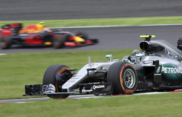 Nico Rosberg extends lead in F1 drivers championship with win in Japanese GP