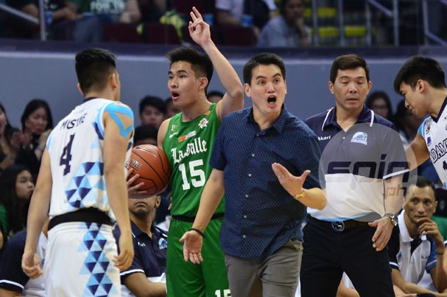 Franz Pumaren proud to see a lot of grit in his young, inexperienced Adamson Falcons