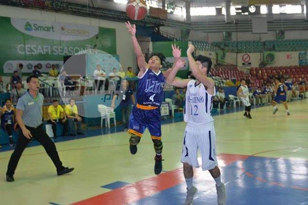 UC Baby Webmasters 4-foot-11 dynamo Gelmart Umpad carves up Ateneo de Cebu defense for 30 points