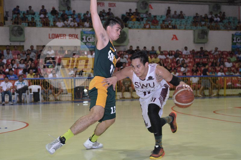 Macmac Tallo leads SWU Cobras fightback from 19-points down against USC Warriors
