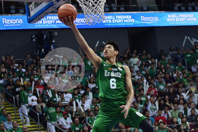 La Salle notches third win as Ricci Rivero's all-around game prove too much for Lyceum