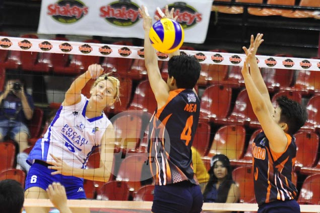 Pocari Sweat bucks slow start to sink Coast Guard and barge into V-League win column