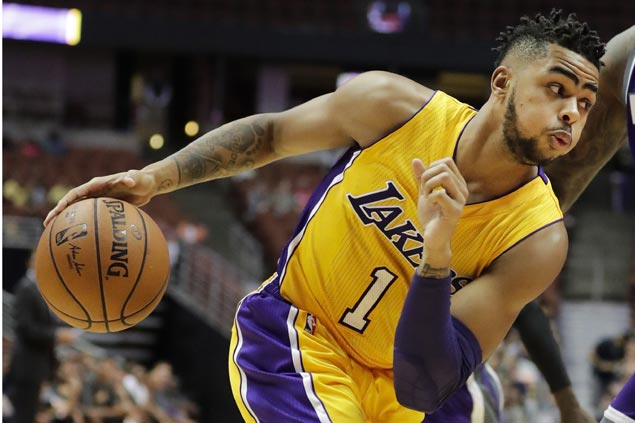 D'Angelo Russell drops 33 as LA Lakers deal Denver Nuggets first preseason loss