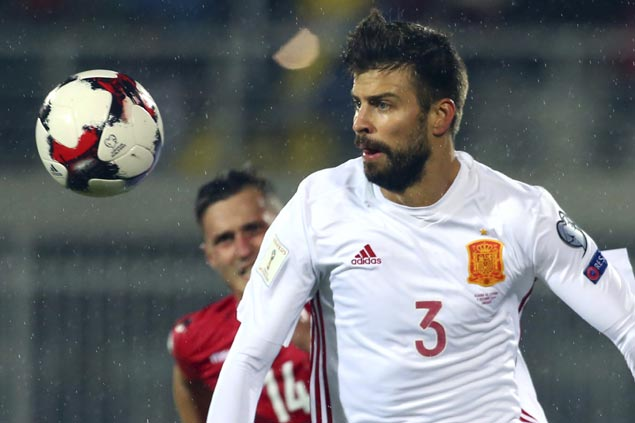 Gerard Pique to quit Spain after 2018 World Cup, says he's no longer wanted in national team