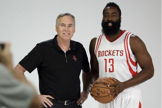 James Harden ready to run Houston high-octane offense as Rockets preseason off to hot start