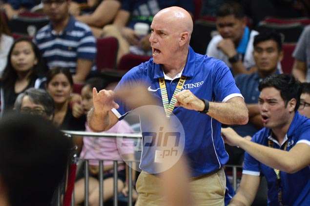 Tab Baldwin dismisses league-ordered switch from Ateneo consultant to coach as 'irrelevant'