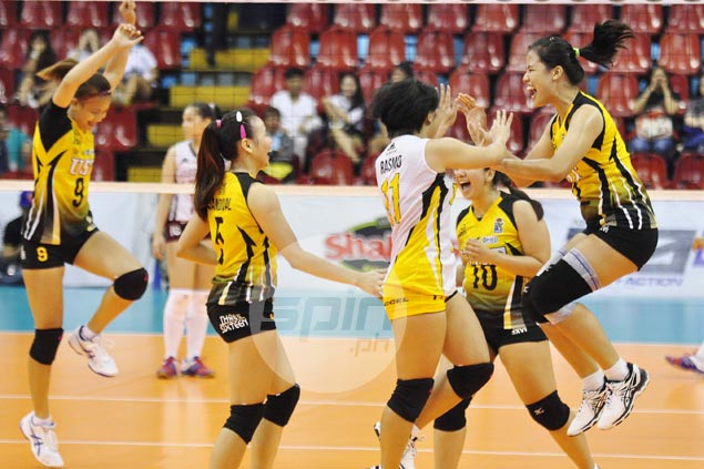 UST Tigresses dispatch UP Lady Maroons in straight sets to stay unbeaten in V-League