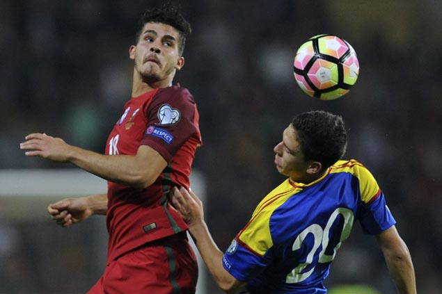 Andre Silva nets first half hat trick as Portugal blasts Faeroe Islands in World Cup qualifiers