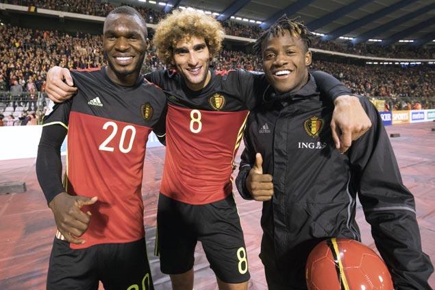 Christian Benteke scores fastest World Cup goal in seven seconds as Belgium routs Gibraltar