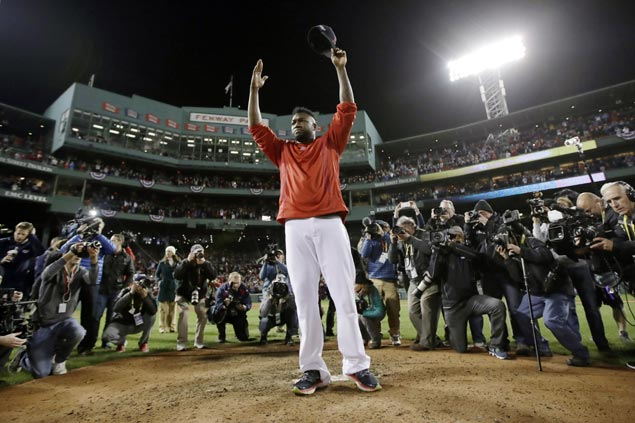 Boston bids Ortiz farewell as Indians complete sweep over Red Sox to reach ALCS vs Blue Jays