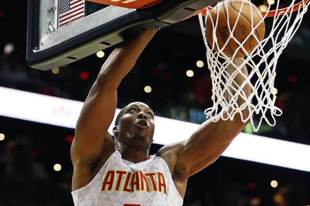 Cavs sit out stars as Dwight Howard leads Atlanta in dealing Cleveland first preseason loss
