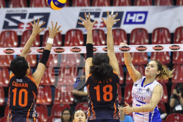 Michele Gumabao urges Pocari locals to step up as V-League title bid starts on wrong foot