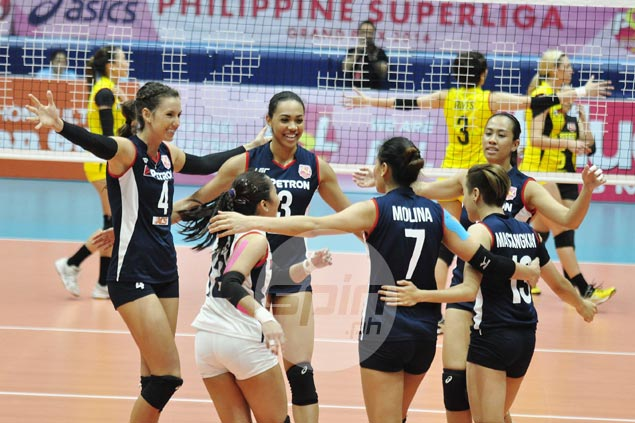 Stephanie Niemer leads way as Petron downs F2 Logistics in straight sets for second straight win