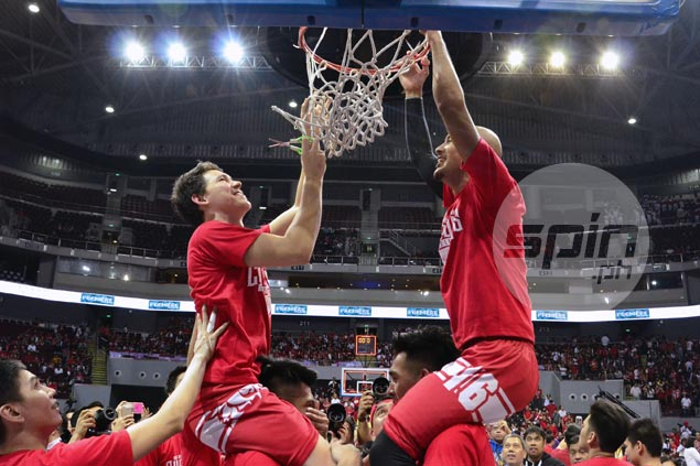 San Beda Red Lions back as NCAA champs after finals sweep of Arellano Chiefs