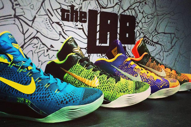 Your favorite shoes needing restoration or customization? All they need is  'Lab'