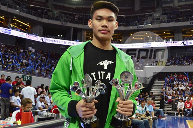 La Salle Greenies gunner Troy Mallillin captures NCAA juniors MVP award for Season 92