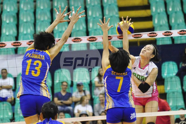 Laoag fights back from a set down to beat Air Force