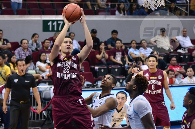 Persistence paying off for UP Maroons rookie Javi Gomez De Liano
