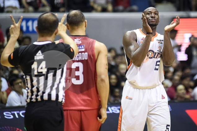 Tim Cone left frustrated by refs calling it tight on Sol Mercado in Durham match-up