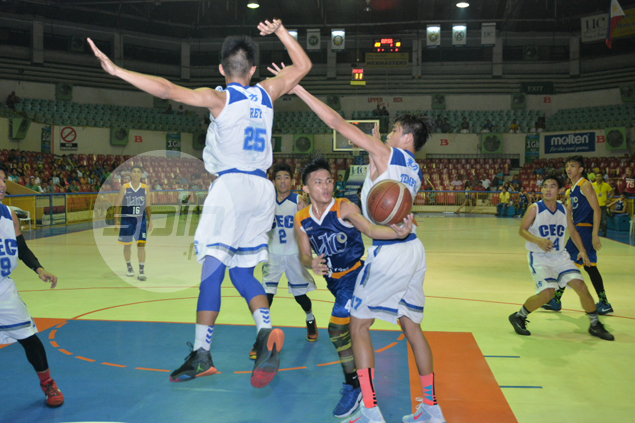 UC Baby Webmasters rout CEC Dragons to seal Cesafi Jrs finals rematch with Magis Eagles