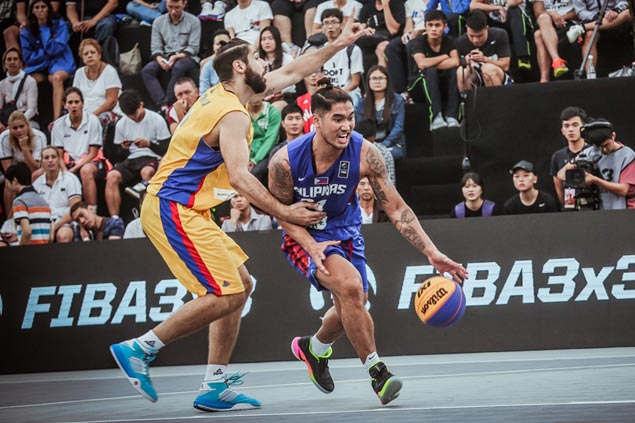Philippines opens World 3x3 campaign with stunning win over Romania