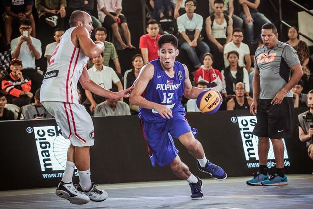 Belo-led Philippine 3x3 team puts up gallant stand but falls short vs Spain