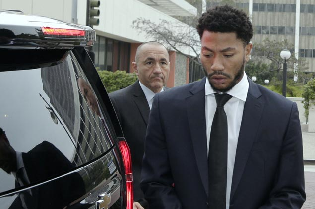 Judge declines to declare mistrial in Derrick Rose rape case