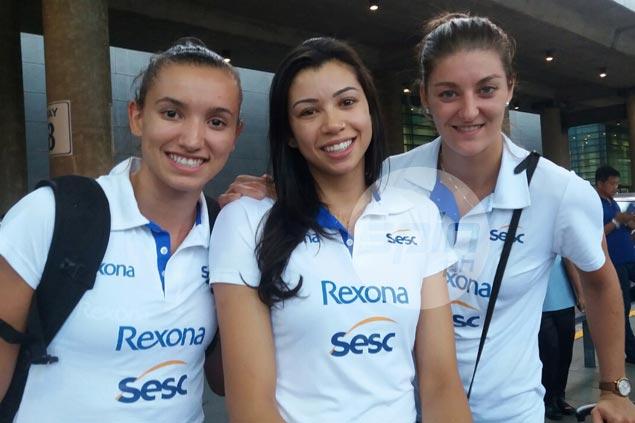 Brazilian club Rexona Sesc-Rio, Italy's Pomi Casalmaggiore in Manila for World Club tilt