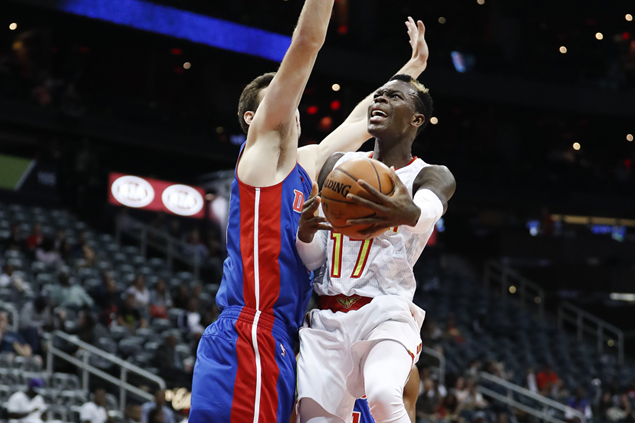 Handed starting job after Jeff Teague trade, Dennis Schroder ready to spread wings
