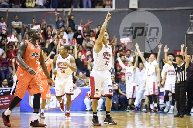 Helterbrand, Caguioa reprise 'Fast N Furious' roles as Ginebra nips Meralco in wild Game Four