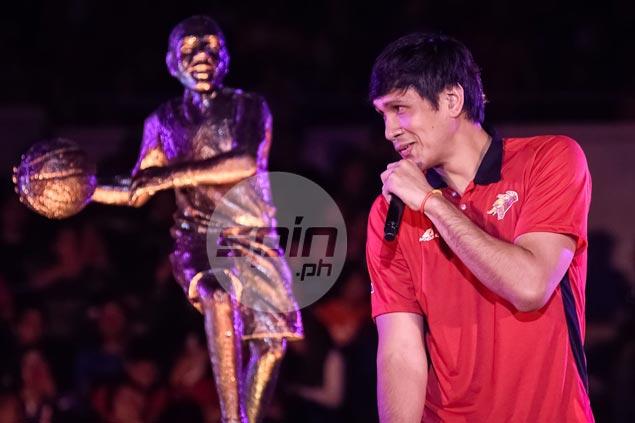 At 26, June Mar Fajardo becomes first PBA player to win MVP three successive years