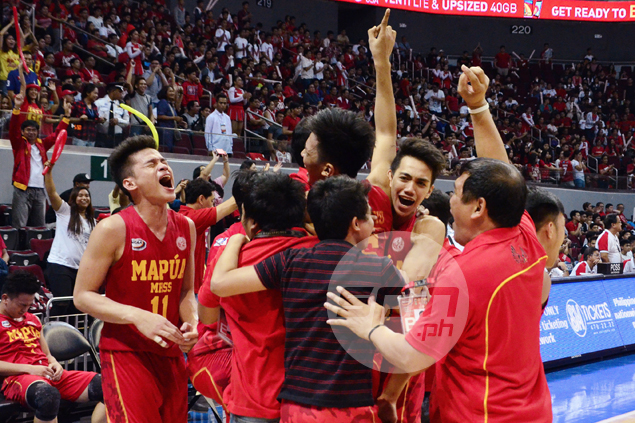 Mapua Red Robins rout San Beda, end Red Cubs' seven-year reign in NCAA juniors