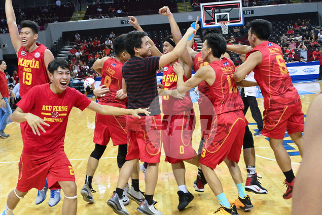 For a team that once lost games by 120 points, Mapua Red Robins find success so much sweeter