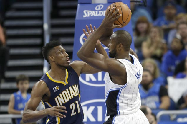 Huge Serge Ibaka double-double powers Magic over Pacers as coach Frank Vogel beats former team