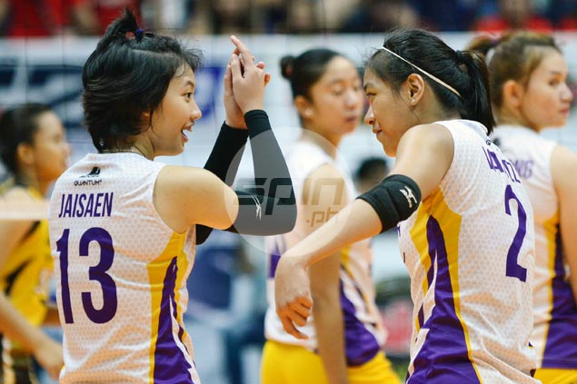 Alyssa Valdez shows way as Customs hands UST Tigresses first loss in V-League