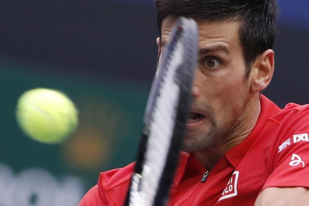 Sluggish and error-prone early, Novak Djokovic recovers to beat Mischa Zverev and gain semis