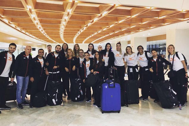 Turkish powerhouse clubs VakifBank, Eczacibasi VitrA arrive in Manila for FIVB World Club tilt