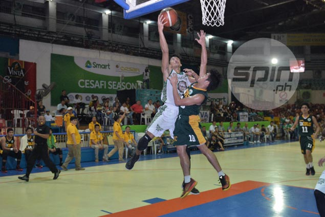 UV Green Lancers make late run to bring down USC Warriors in opener of Cesafi finals