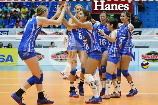 Pocari Sweat pounds struggling UP Lady Maroons in straight sets for second win in a row