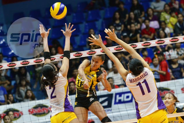 Cherry Rondina far from pleased as return from beach volleyball ends in V-League loss