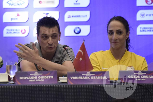 Drumming up interest for world club volley tilt, Italian coachsays competition level higher than NBA