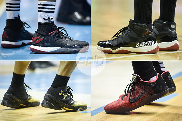 Guess who wore these hot sneakers in the PBA Governors Cup Finals.